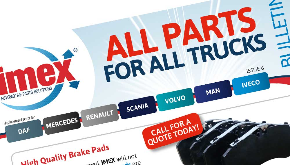 Replacement DAF, Mercedes, Scania, Renault, Volvo, MAN and Iveco parts
