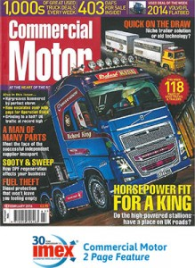 Commercial Motor feature Feb 2016