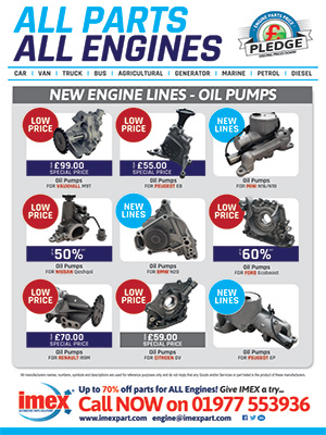 Engine Parts - Oil Pumps
