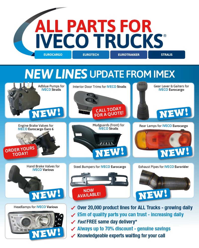 Replacement Iveco truck parts