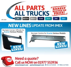 Parts for Scania Trucks