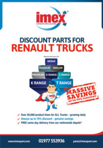 Parts for Renault Trucks