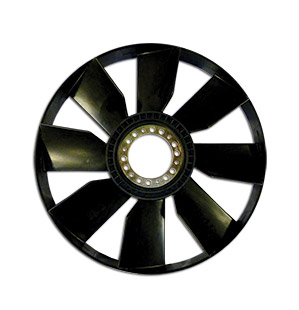viscous fan blade
